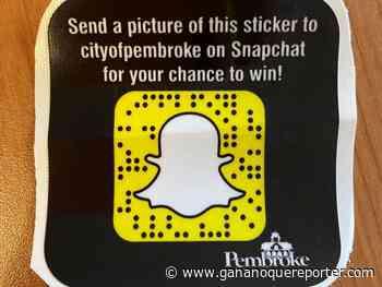 Pembroke launches June Snapchat Scavenger Hunt - Gananoque Reporter