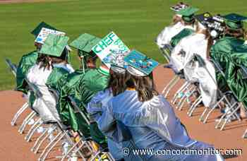 Pembroke Academy's graduation ceremony was music to their ears - Concord Monitor