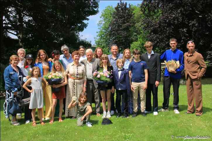 Schepen Janine Stadeus is 50 jaar getrouwd met Antoon, en bekijkt het van de andere kant