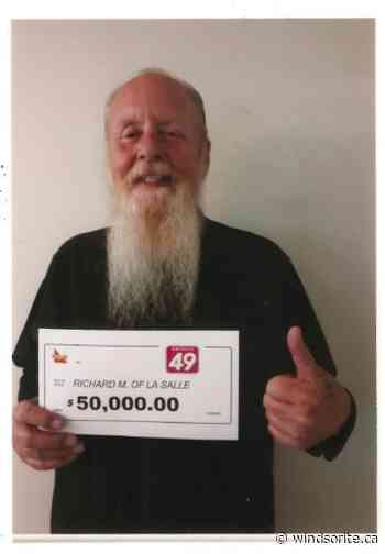 LaSalle Resident Wins $50000 With Ontario 49   windsoriteDOTca News - windsoriteDOTca News