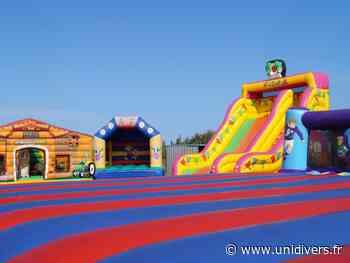 Structures gonflables Saint-Amand-Montrond samedi 17 juillet 2021 - Unidivers