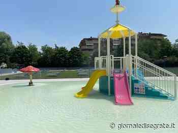 Inaugurata la piscina comunale di Segrate: solarium più grande e nuove vasche esterne - Giornale di Segrate