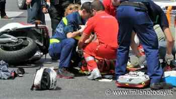 Grave incidente a Segrate: scontro tra una moto e un'auto - MilanoToday.it