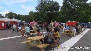Dozens gather for Black Food Truck Friday on Charlotte's west side - WBTV