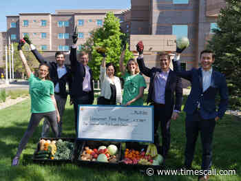 Longmont United Hospital and chamber boost Longmont Food Rescue with $1,500 donation - Longmont Times-Call