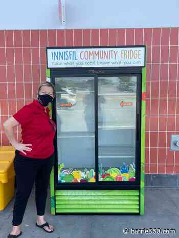 Innisfil supports neighbours helping neighbours with community fridge and garden – Barrie 360 - Barrie 360
