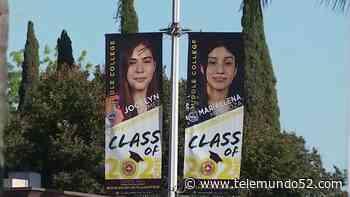 Estudiantes ejemplares del Distrito Escolar de Santa Ana adornan las calles - Telemundo 52
