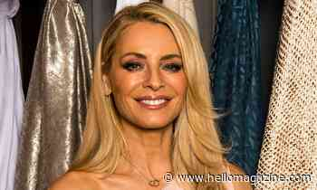 Tess Daly sizzles in strapless bikini for sun-soaked selfie