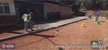 Gobierno de Zacapu, rehabilita calle Vinicio Martínez en los Ajolotes - El Diario Visión
