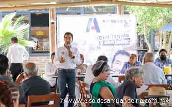 Alfonso Trejo reactivaría economía de Tequisquiapan - El Sol de San Juan del Río