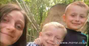 Police launch major search after mum and two kids, aged 3 and 4, go missing