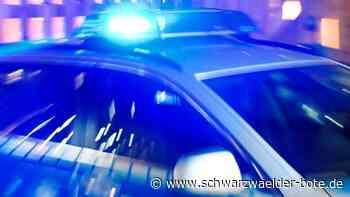 19-Jährige verletzt - Rollerfahrer flüchtet bei Autokorso in Schramberg vor Polizei - Schwarzwälder Bote