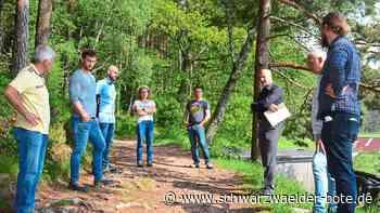 Wanderweg in Lauterbach - Wurzelwerk erschwert das Durchkommen - Schwarzwälder Bote