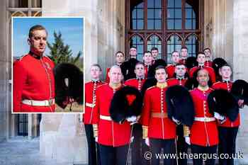 Brighton Guardsman Daniel Coghlan recognised by the Queen