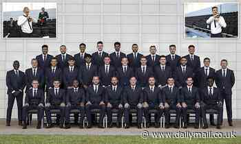 Euro 2020: England stars smarten up for team photo (but Gareth Southgate has ditched his waistcoat)