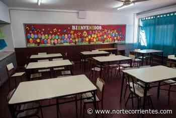 En caravana, los padres pidieron la vuelta a clases presenciales - Norte Corrientes