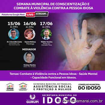 Gurupi realiza Semana de Conscientização e Combate à Violência contra pessoa idosa - Portal do Amaral