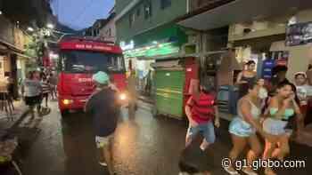 """Prédio """"estala"""" em Rio das Pedras e moradores fazem mudança às pressas - G1"""