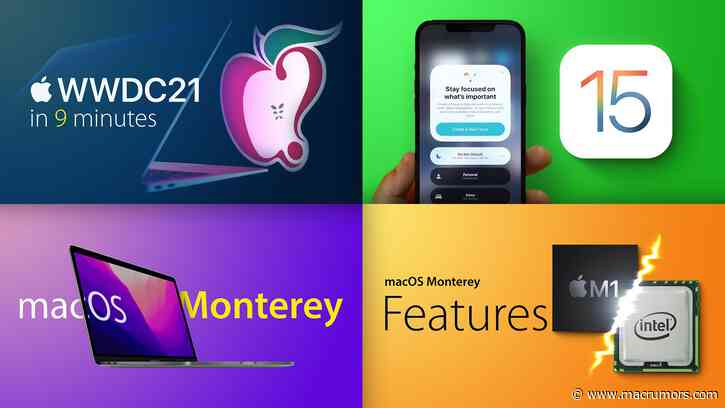 Top Stories: WWDC Recap With iOS 15, macOS Monterey, and More