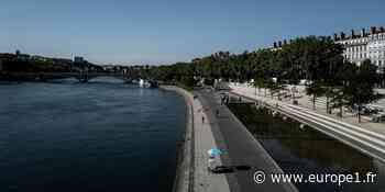 """""""Ça fait du bien"""" : à Lyon, les habitants attendent les fortes chaleurs du week-end - Europe 1"""