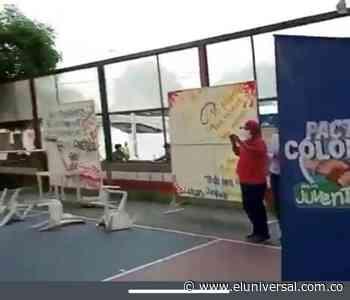 Suspenden mesa de diálogo de juventudes en Sincelejo por hecho violento - El Universal - Colombia