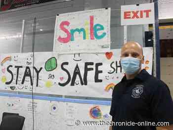 Children's art helps raise spirits at Point Edward clinic - West Lorne Chronicle