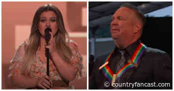 Kelly Clarkson Singing The Dance Brought Garth Brooks to Tears - Country Fancast