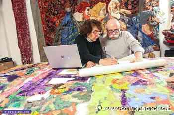 Laveno Mombello incontra Dante con la fiber art di DAMSS | Sempione News - Sempione News
