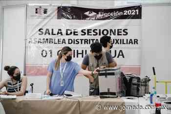 Personal no capacitado del IEE de Chihuahua retrasa conteo - La Jornada