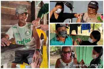 Após recomendação do MPF, ribeirinhos de Montanha Mangabal, em Itaituba (PA), recebem vacinas contra covid-19 - MPF
