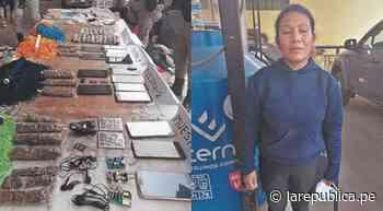 Piura: detienen a mujer que pretendía introducir a penal celulares y marihuana - LaRepública.pe