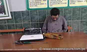 Piura: Serenazgo de la Municipalidad Provincial interviene a sujeto y recupera laptop que sustrajo de librería - El Regional