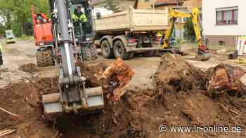 Großbaustellen in Herzberg: Bauarbeiten dauern noch bis 2022 - Lausitzer Rundschau