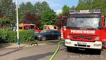 Brand in Herzberg: Feuerwehr wird zu Industriebetrieb alarmiert - HarzKurier