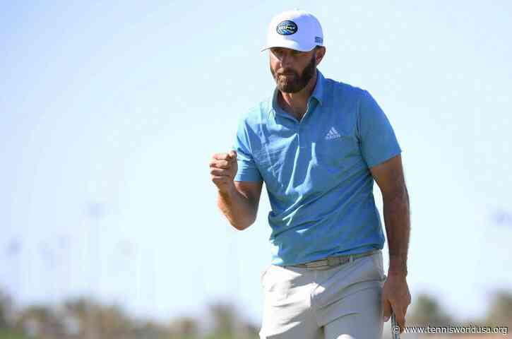 """Dustin Johnson: """"I can keep it rolling all week"""""""