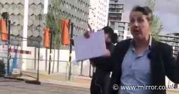 ITV News reporter 'loses it' during meltdown at member of public during filming