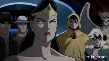 Un gran película que homenajea a la Era Dorada de DC Comics, pero… - Justice Society: World War II - It's Spoiler Time