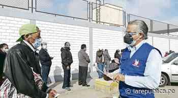 Ancianos de áreas rurales de Tacna se quejan de fechas de vacunación lrsd - LaRepública.pe