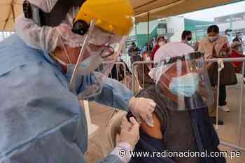 Tacna inició vacunación a personas mayores de 50 años - Radio Nacional del Perú