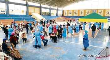 Tacna tiene 83 mil vacunas para menores de 55 años - LaRepública.pe