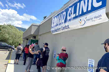 No appointments necessary for first dose COVID-19 vaccine: Interior Health – Summerland Review - Summerland Review