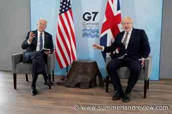 G-7 gathers to pledge 1B coronavirus vaccine shots for world - Summerland Review