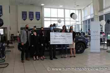 Okanagan car dealership raises $12k for national charity – Summerland Review - Summerland Review