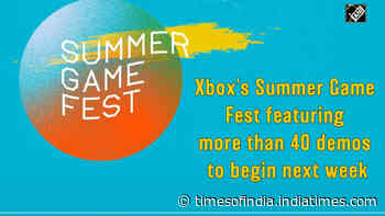 Xbox's Summer Game Fest featuring more than 40 demos to begin next week