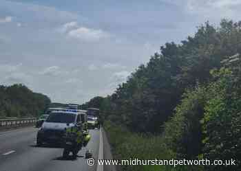 Chichester A27 lane closed following collision - Midhurst and Petworth Observer