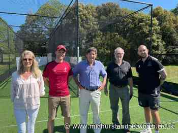 Former Sussex and MCC man helps Petworth open new cricket nets - Midhurst and Petworth Observer