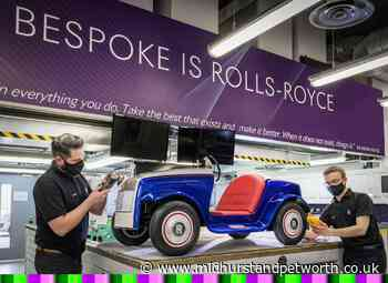 Rolls-Royce used by young St Richard's patients gets a service - Midhurst and Petworth Observer