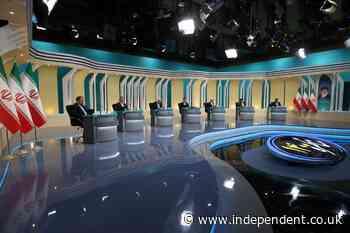 Iran hard-liners target sole moderate in presidential debate