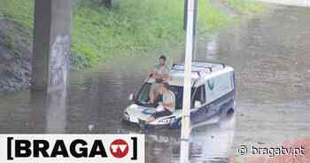 As imagens do mau tempo em Braga - Braga TV