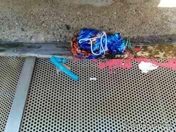 Chafariz da Praça da República em Braga cheio de lixo e 'restos de festas' - Semanário V